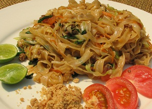 Dai style rice noodles
