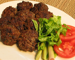 Fried beef with lemon grass